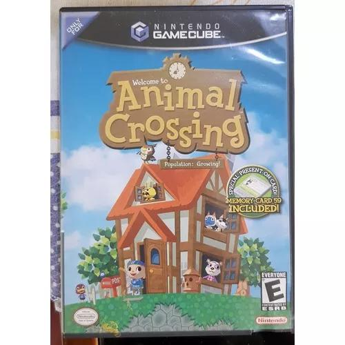 Animal crossing game cube
