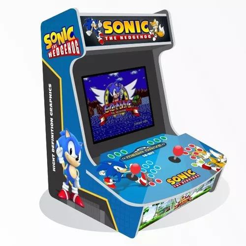 Arte para adesivos bartop evo xr - sonic and tails