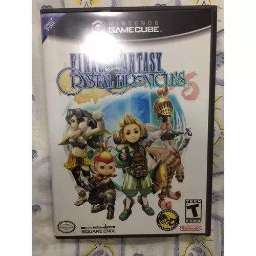 Final fantasy crystal chronicles gamecube + guia nintendo