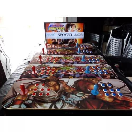 Fliperama portátil arcade 17 mil jogos - medidas 90x30x11