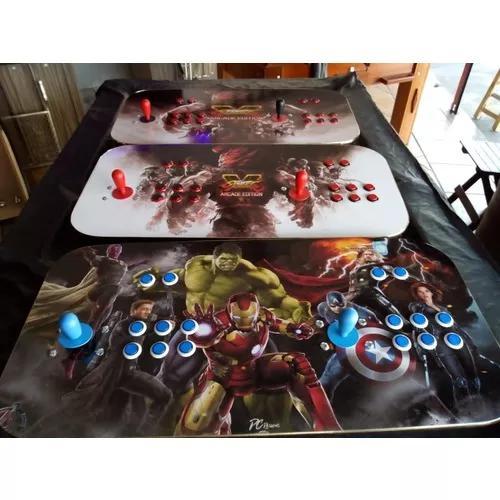 Fliperama portátil arcade 8000 jogos direto da fábrica