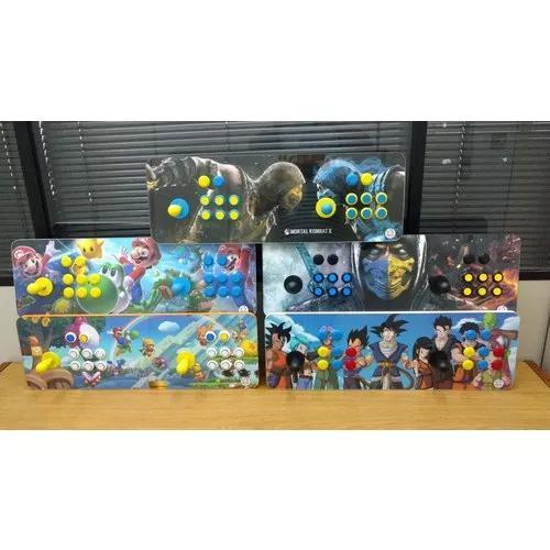 Fliperama portátil arcade comando magnético 13mil jogos