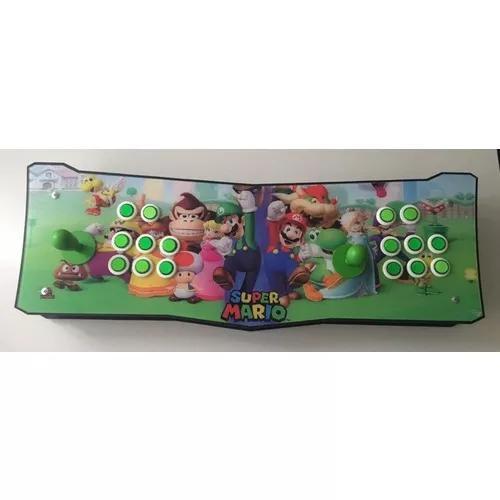 Fliperama retropie arcade retrosole tv 8000 jogos