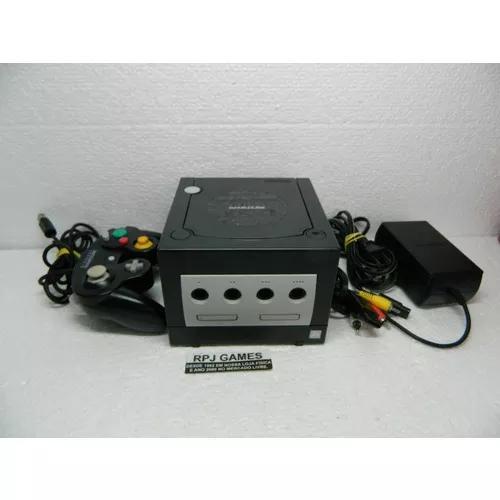 Game cube com controle cabo av fonte pronto jogar - loja rj