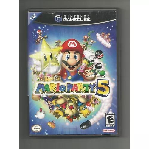 Jogo original mario party 5 - game cube - envio imediato