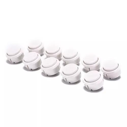 Kit botoes tipo sanwa 30mm (10 botoes)