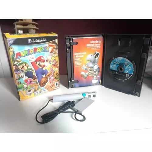 Mario party 7 (raro) com microfone edição de colecionador