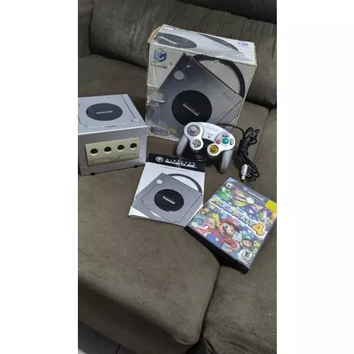 Nintendo game cube na caixa