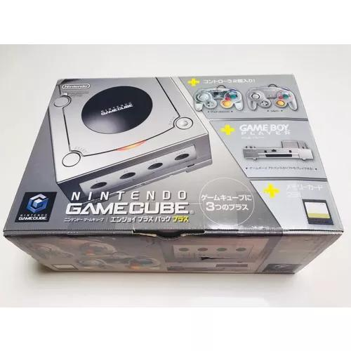 Nintendo gamecube + game boy player completo na caixa !