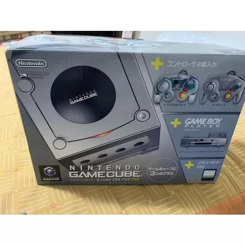 Ninteno gamecube + gameboy player serial confere completo
