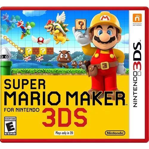 Super mario maker - nintendo 3ds 2ds - lacrado + fr. grátis