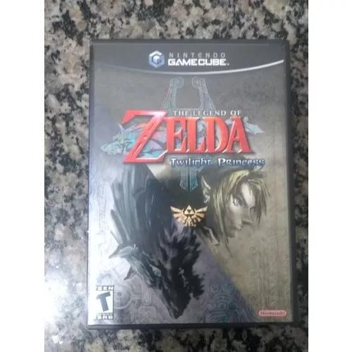 The legend of zelda twilight princess game cube/ wii