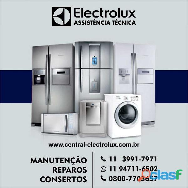 Assistência electrolux: cozinha, refrigeração e lavanderia
