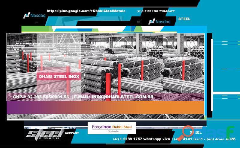 Dhabi steel   aço inox em chapas, perfis, tubos, slitters, tiras