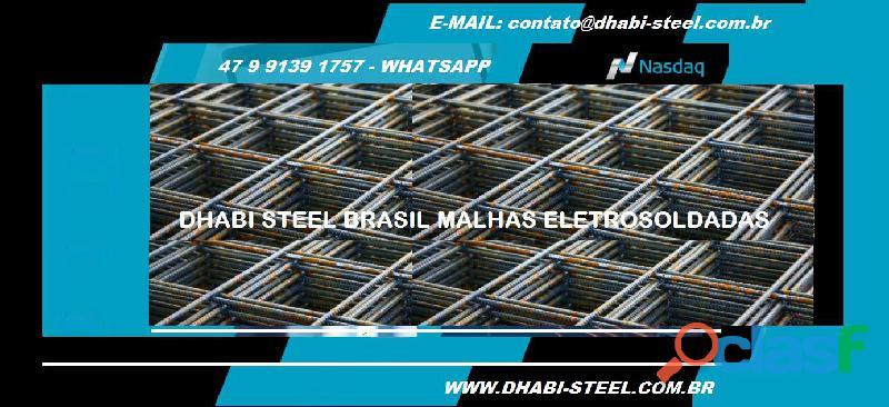 Dhabi steel   telas eletrosoldadas para laje, piso, etc   venha para o nosso time