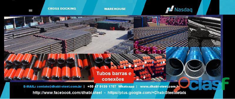 Dhabi steel   tubos de aço e metalon   trabalhe conosco