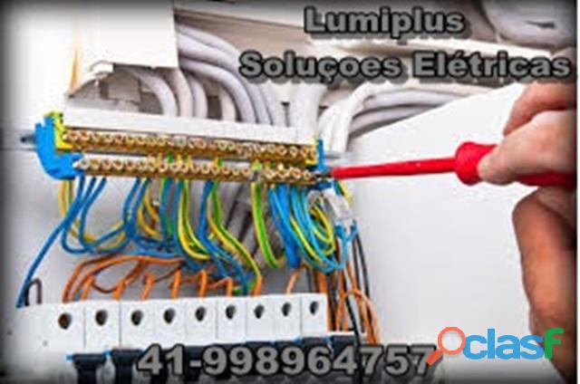 Serviços de elétrica residencial,predial