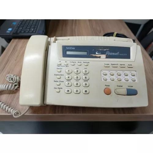 Aparelho brother personal fax 275