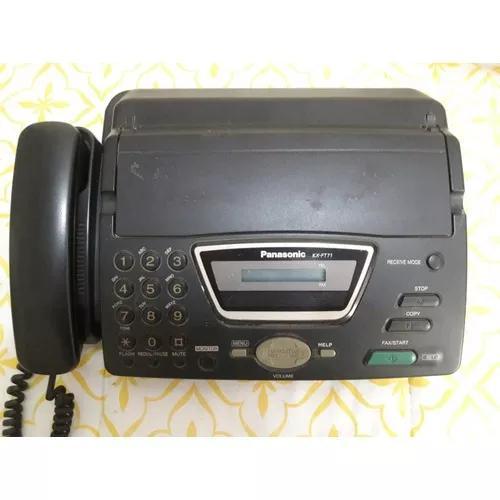 Aparelho fone fax panasonic kx ft71 funcionando