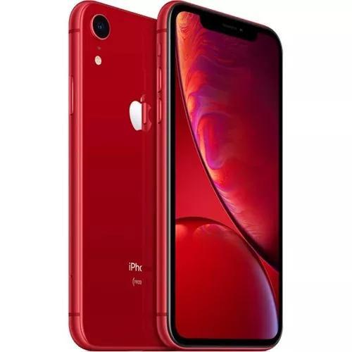 Apple iphone xr 64gb 4g nota fiscal brinde capa e película