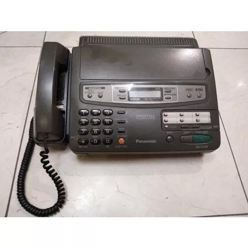 Fax e telefone com secretaria eletrônica panasonic kx -