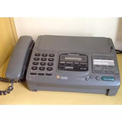 Fax panasonic kx-f780 - muito novo - perfeito