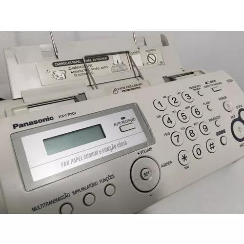 Fax panasonic kx-fp207br *pouco uso