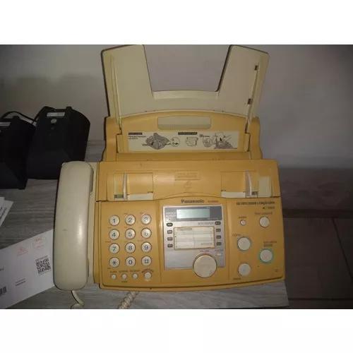Fax panasonic usado kx fhd333 funcionando