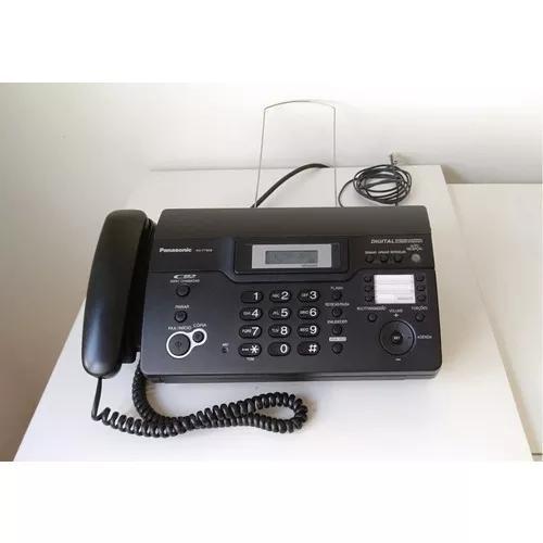 Fax térmico panasonic kx-ft938 / secretária /