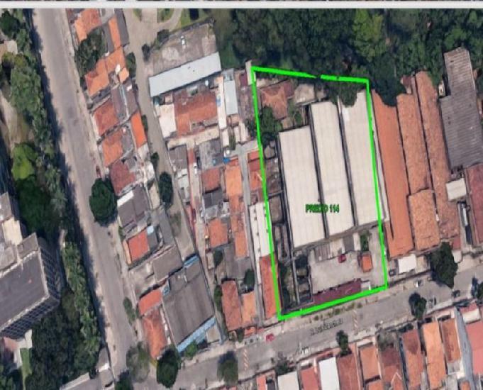 Galpãoárea com 7.400 m2 bairro riachuelo - rio de janeiro