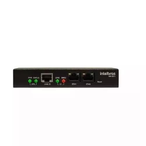 Gateway de voz ip 1 link e1 - sip gw 201 e intelbras