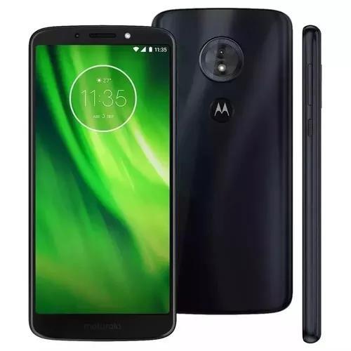Motorola moto g6 play novo lacrado 32gb tela 5.7+capa brinde