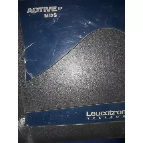 Placas central hibrida analogica digital leucotron active ip