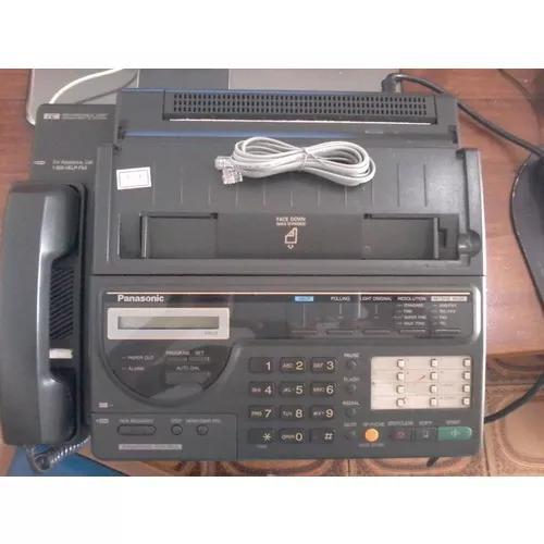 Telefone fax panasonic kx-f150 - recordable chip