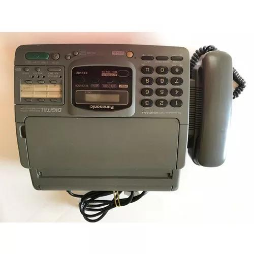 Telefone, fax, secretária, panasonic kx-f780