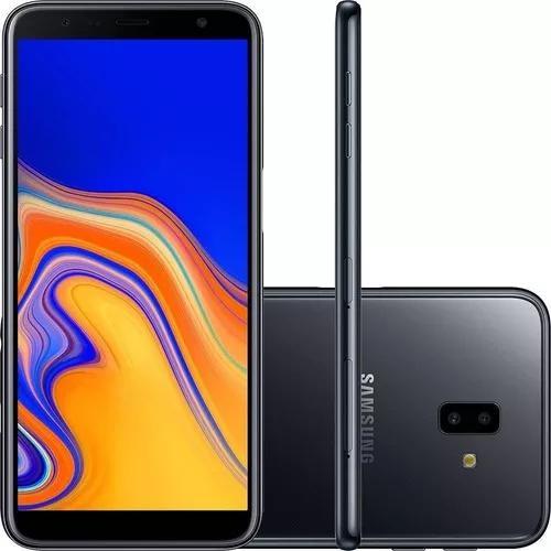 Samsung j6 plus 32gb preto - somos loja fisica - nf