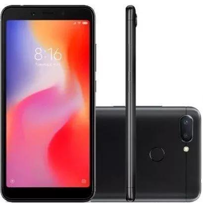 Smartphone xiaomi redmi 6 32gb 3gb ram dual chip global*