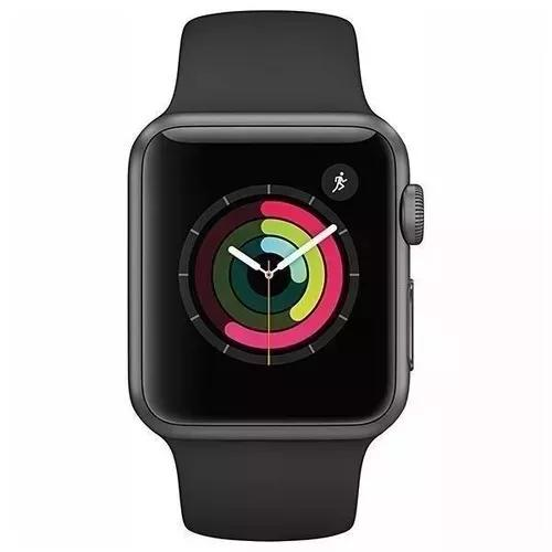Apple watch series 3 38mm gps prova d'água lacrado