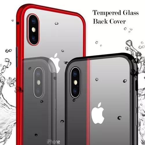 Capa metalica 360º apple iphone 6 7 8 plus x xs xr envio