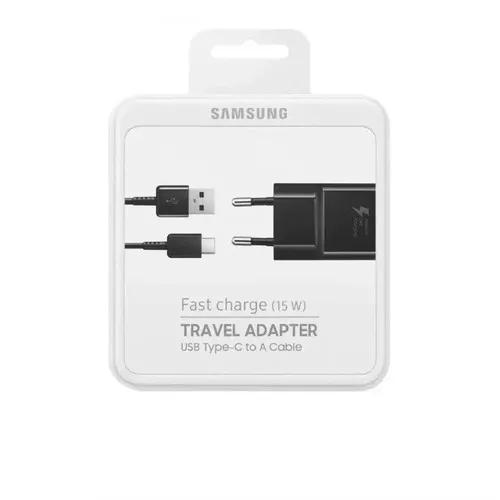 Carregador original samsung fast charge type c s8 s9 note 8