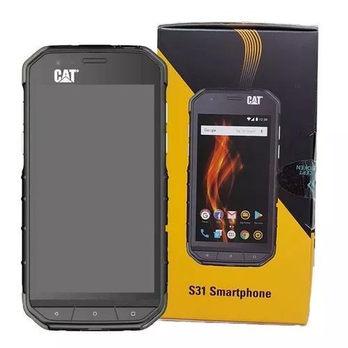 Celular smartphone caterpillar cat s31 prova dagua choq + nf