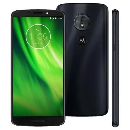 Motorola moto g6 play indigo black tela 5,7 32gb xt1922+nfe