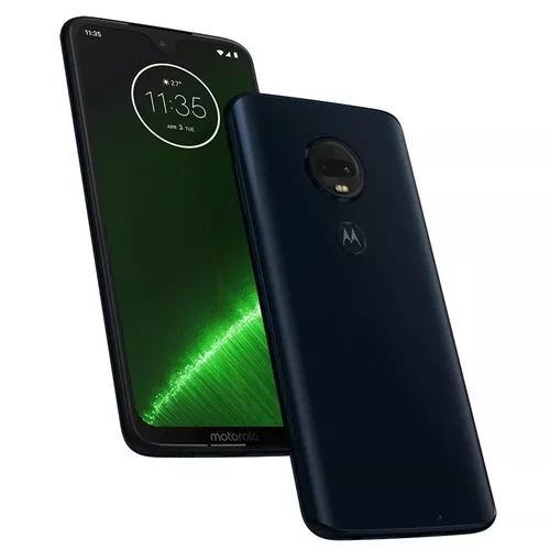 Motorola moto g7 plus indigo 64gb - somos loja fisica