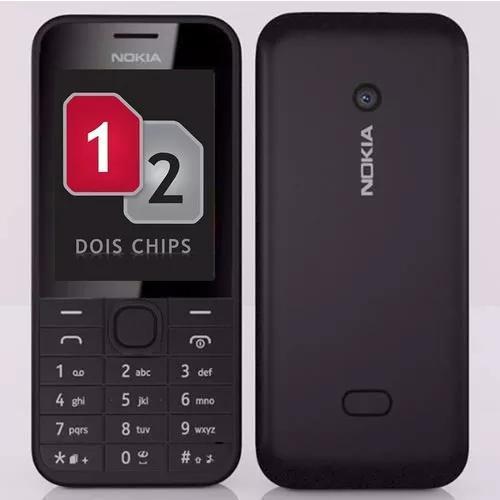 Nokia 208,02 chip,3g,rádio,novo na
