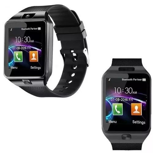 Relógio bluetooth smartwatch dz09 android gear black friday