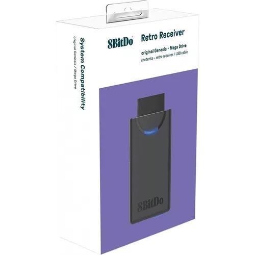 8bitdo® m30 retro receiver receptor bluetooth p/ mega