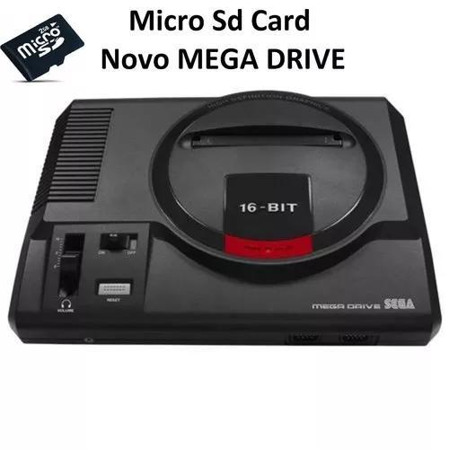 Cartão microsd novo megadrive vol. 1 #-a até o/