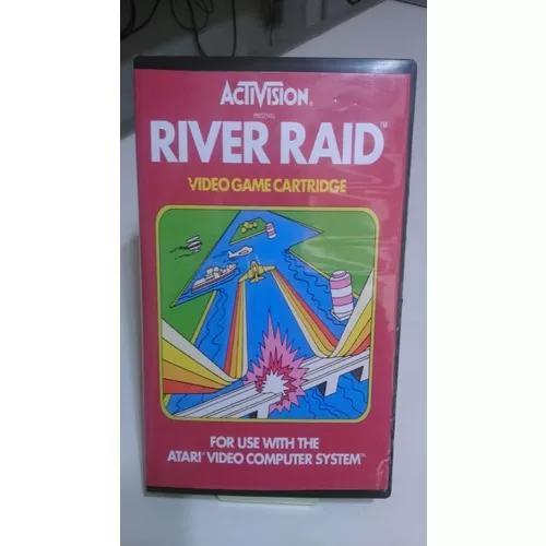 Cartucho atari river raid original com capa g