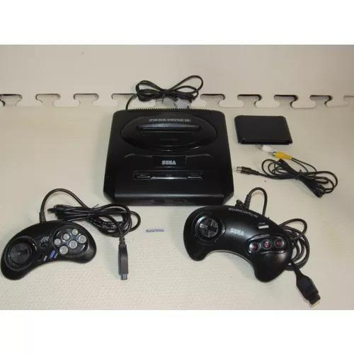 Console mega drive 3 controle turbo top ten original leia