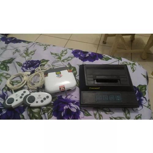 Consoles 01 mega drive 3 86 jogos na m